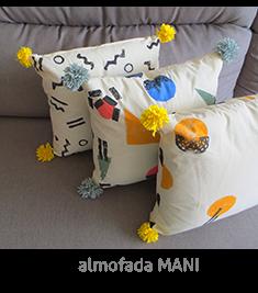 almofadas estampadas | espanta-papão
