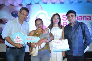 Prefeito Charles Camaraense abre oficialmente 5ª Semana do bebê