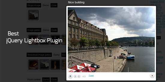20 Best jQuery Lightbox Plugin for Image Gallery