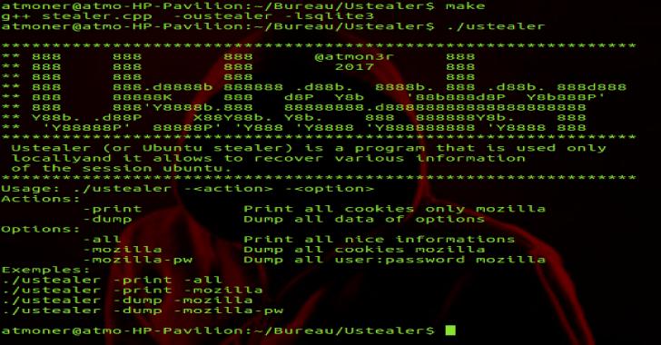 Ustealer : Steal Ubuntu Information In Local PC