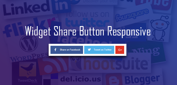 Cara membuat social share button tanpa javascript di blog