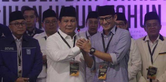 Prabowo Jumpa Warga Muhammadiyah Di Yogyakarta, Sandi Bertemu Dengan Kiai NU Jatim
