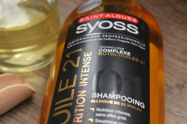 Shampooing Huile 21 Nutrition Intense - Saint Algue Syoss