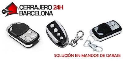 servicios mando de garaje barcelona
