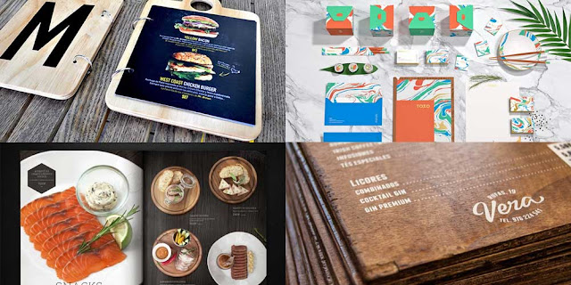 Unusual Menu Designs You Will Want to Copy