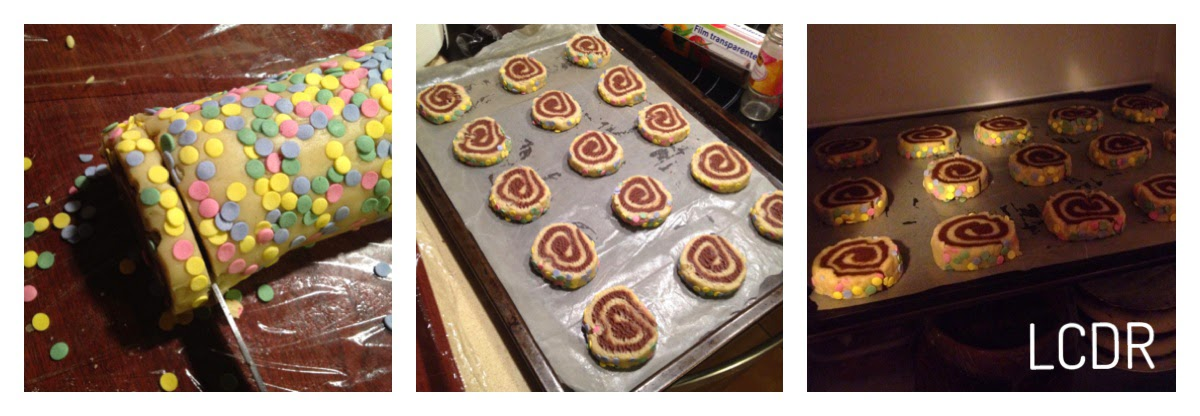 Receta de galletas en espiral 06