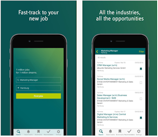 XING Job's Mobile Job Search App | Mobile Job Search Apps