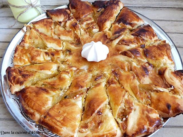 Tarte du soleil citron-citron vert-basilic façon tarte meringuée