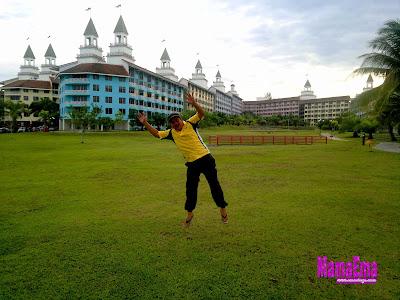 posing lompat