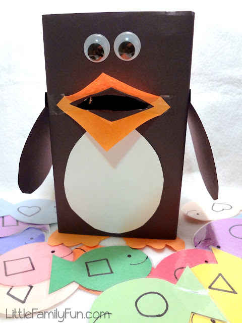 penguin learning game