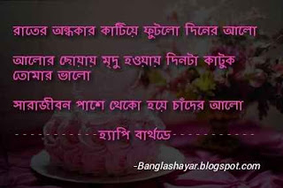 Happy Birthday in Bengali Language