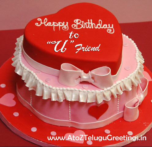 Images Of Birthday Cakes For Special Friend : Birthday Cake Friend Wishes