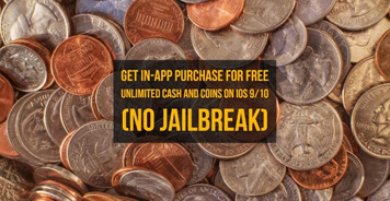 With this trick I will be teaching you how to get unlimited cash and coins for free without jailbreak. It works for all iOS 9 and iOS 10 running devices.