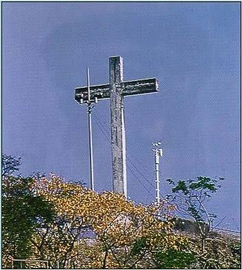 Morro do Mirante, em Santa Cruz. era área de lazer da família imperial