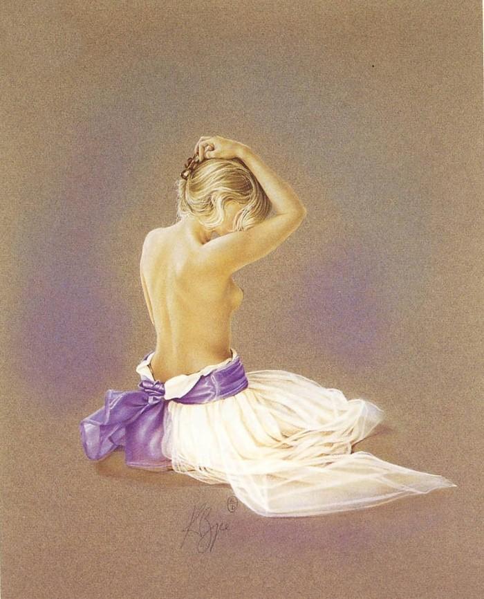Пастели на тему балета