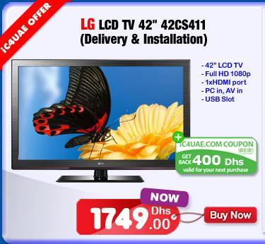 LG LCD TV 42 inches 42CS411 Specs and Price Offer