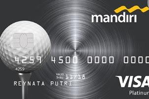 Kartu Kredit Mandiri Golf Platinum, Limit, Turnament, Biaya dan Cara apply