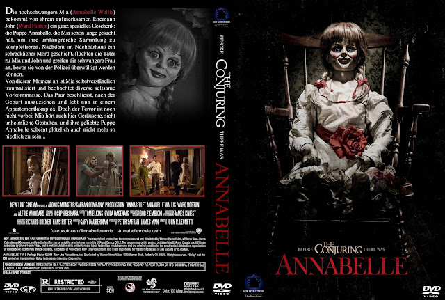 Anabelle DVD Cover