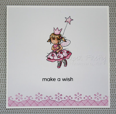 CAS card with cute fairy (image from LOTV)