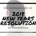 My Ultimate List Of 2018  New Years Resolution