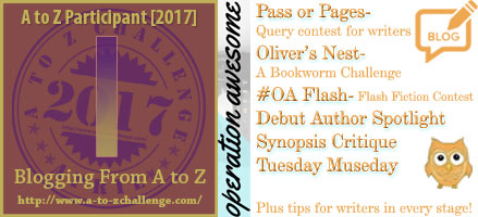 #AtoZchallenge 2017 Operation Awesome Ideas to Spark Your Next Story #WritingPrompt