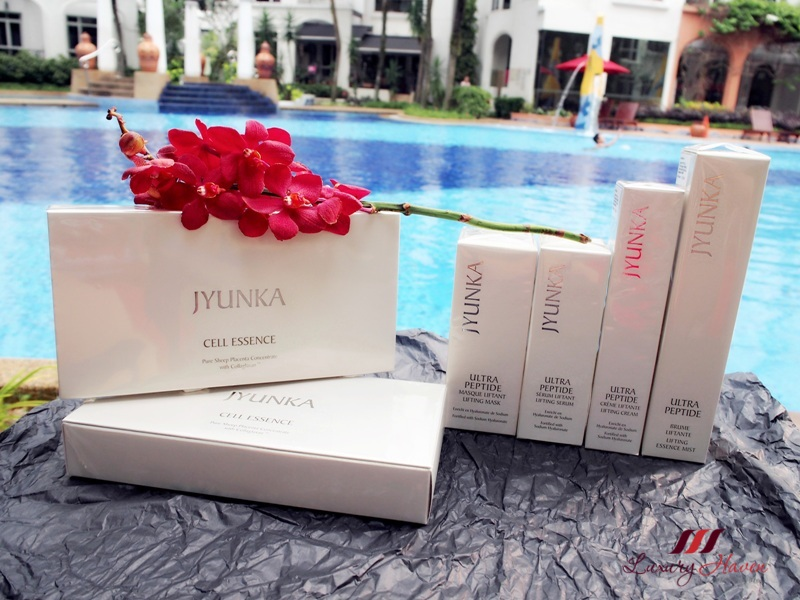 jyunka ultra peptide lifting products review cell essence