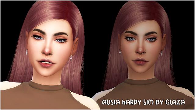 ALISIA HARDY SIM BY GLAZA
