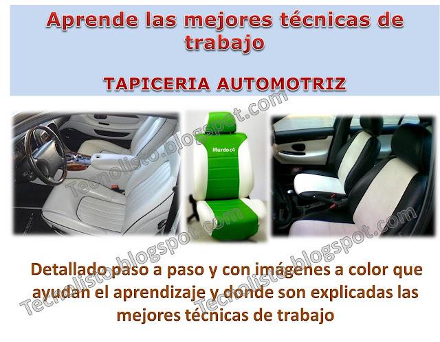 """""""Curso Manual Tapicería Automotriz"""""""