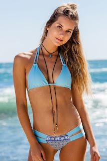 Women's Blue Bikini