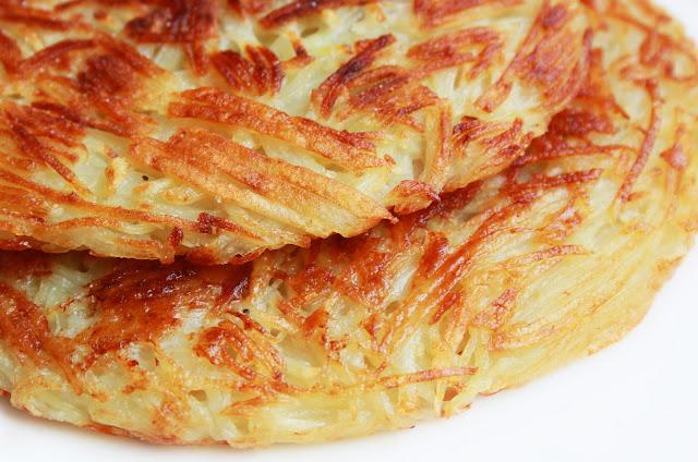 Recette Galettes de pommes de terre grillées