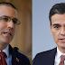 Jorge Arreaza fulmina a Pedro Sánchez a golpe de tuit