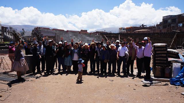 """MDT entrega material de construcción a los vecinos de """"La Esperanza"""""""