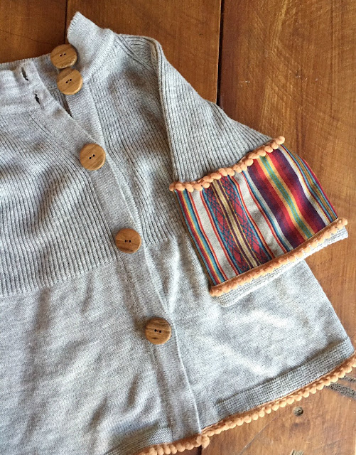 Saco de lana reciclado