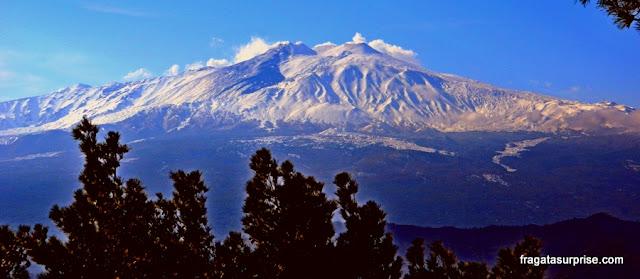 Vulcão Etna Sicília