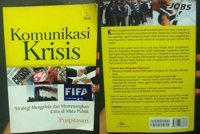 buku komunikasi krisis puspitasari