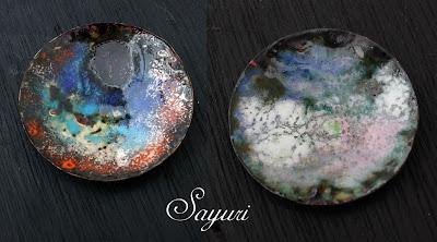 black Crackle Enamel by sayuri