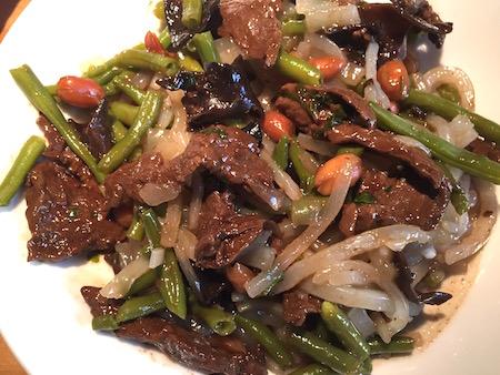 recette de nouille sauté au bœuf