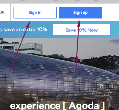 Www.agoda.com Sign in or Login and Sign Up