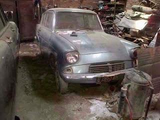 Bahan Ford Anglia 1962 Kondisi Mesin Hidup