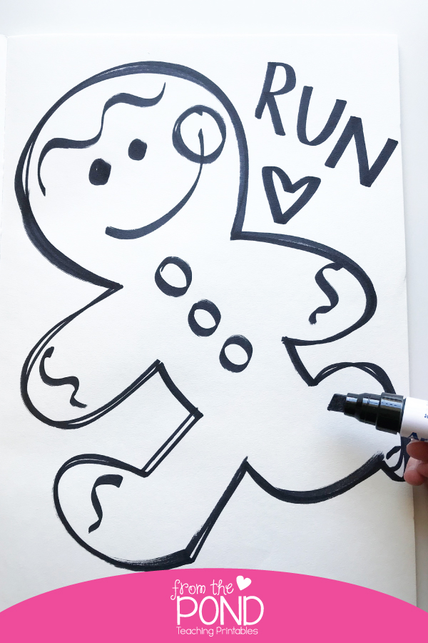 Gingerbread Man Story Activities