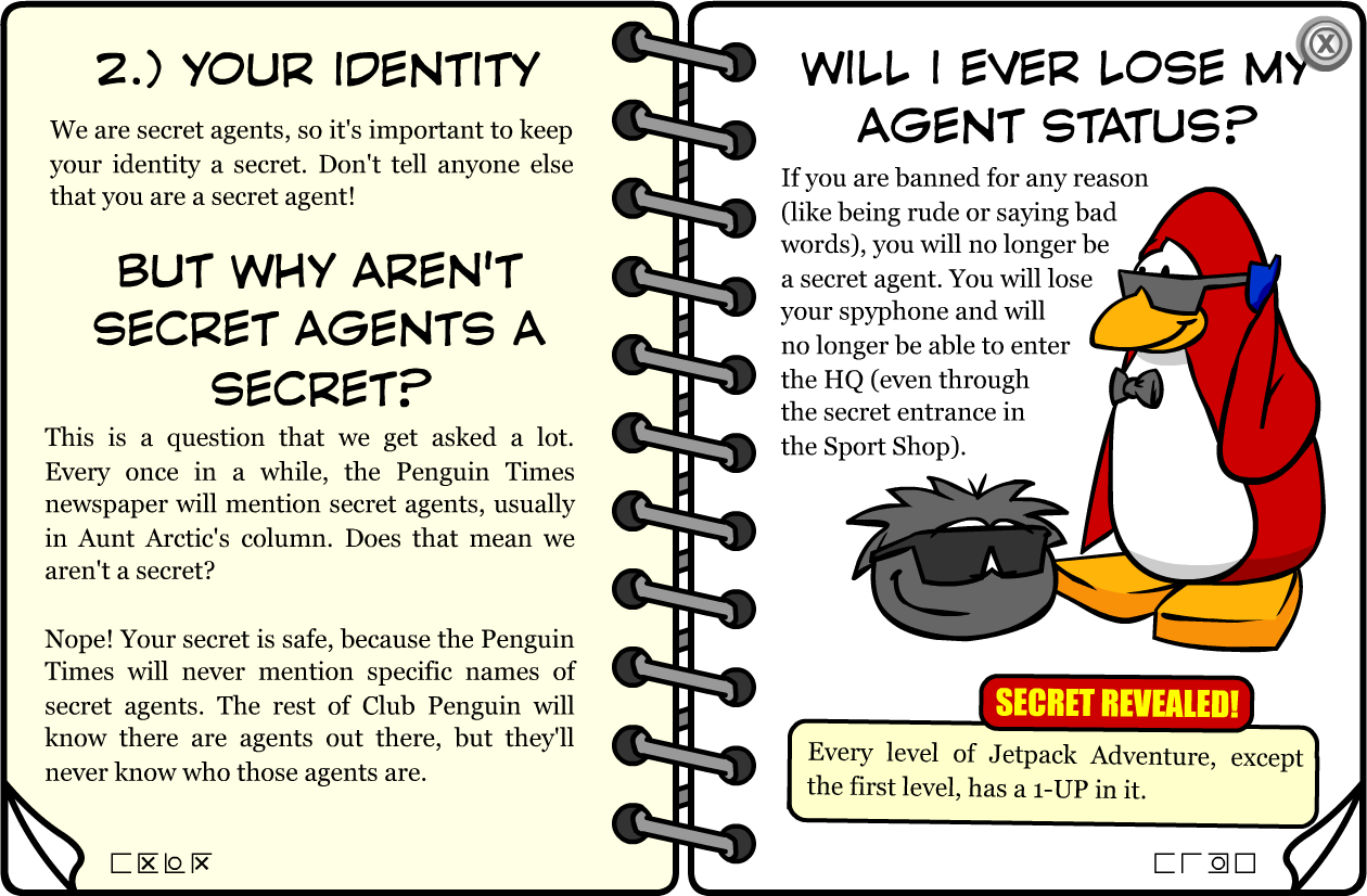 Factual Informative Spy Handbook