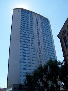 The 1956 Pirelli Tower in Milan is one of Ponti's most famous buildings