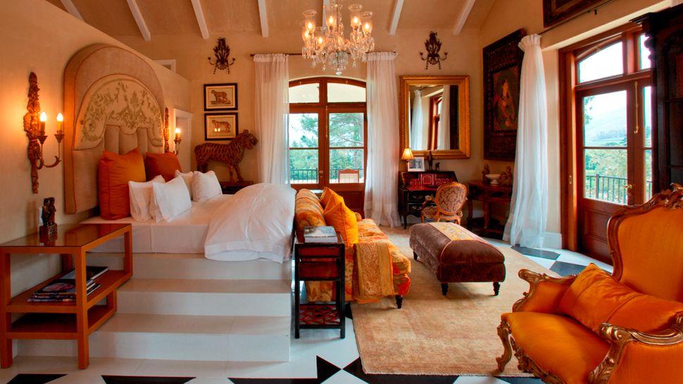 Decoracion actual de moda decoraci n con tonos anaranjados - Decoracion actual de interiores ...