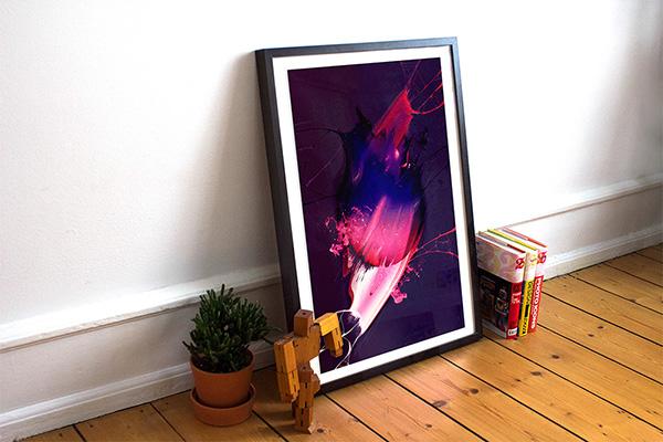 Download Poster Mockup PSD Terbaru Gratis - Poster/Frame Mockup