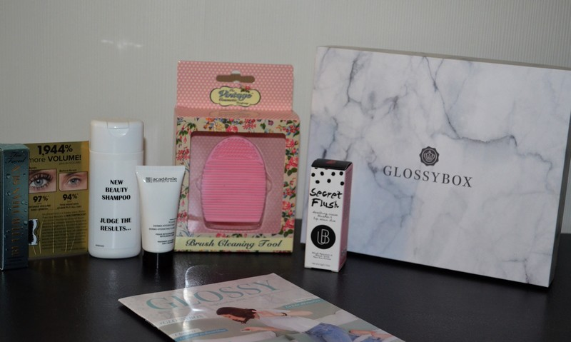 Glossybox Septembre 2016 | #GLOSSYBOX