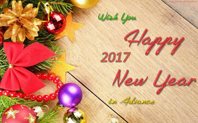 Happy New year 2017 in Advance Wallpaper