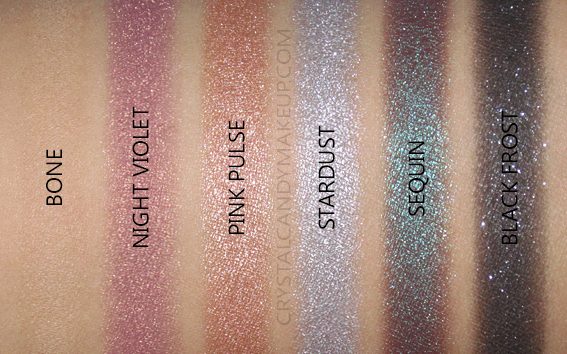 Laura Mercier Nights Out Eyeshadow Palette Review Swatches