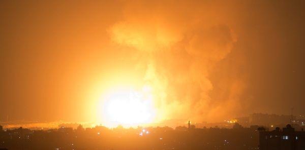 Israel bombardea Franja de Gaza tras ataque de Hamas con cohetes