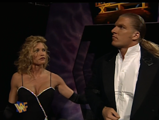 WWE / WWF - WRESTLEMANIA 12 - Triple H and Sable made their Wrestlemania debuts together