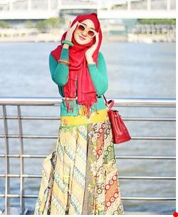 batik kombinasi dian pelangi
